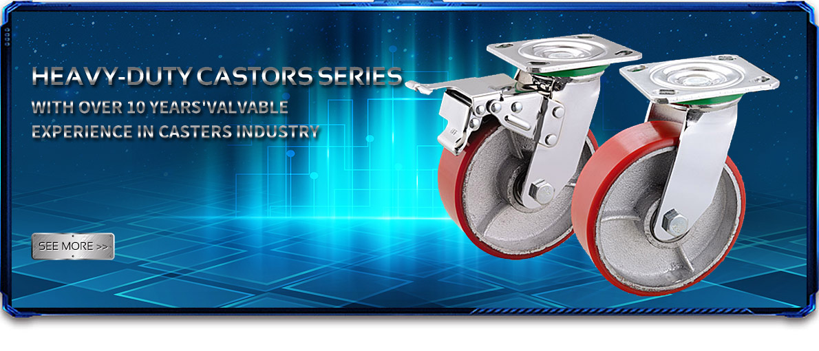 Heavy-duty castors series